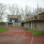 Bau der Schänzlehalle 2002