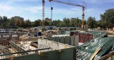 Die ersten Wände stehen…es tut sich was an der Baustelle Schwaketenbad